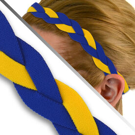 GripBand Headband - Royal/Yellow