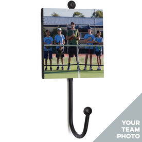 Tennis Medal Hook - Your Team Photo