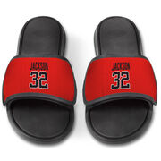 Personalized Repwell® Slide Sandals - Name and Number