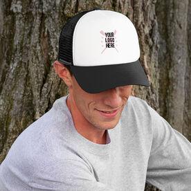 Crew Trucker Hat Custom Team Logo