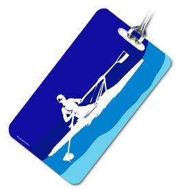 Crew Bag/Luggage Tag Rower Blue