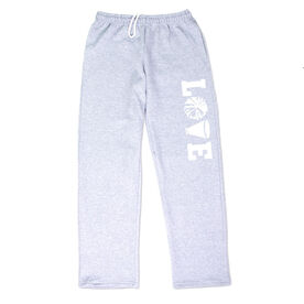 Cheerleading Fleece Sweatpants - Love