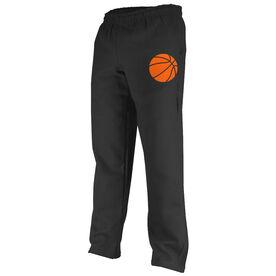 Basketball Fleece Sweatpants Basketball Icon