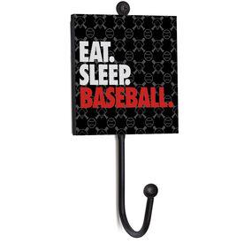 Baseball Medal Hook - Eat. Sleep. Baseball.