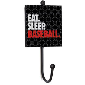 Baseball Medal Hook - Eat. Sleep. Baseball.