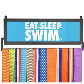 AthletesWALL Medal Display - Eat Sleep Swim