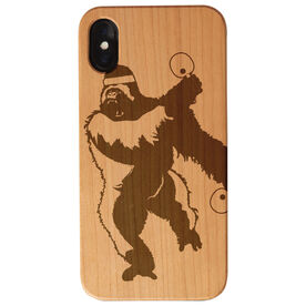 Ping Pong Engraved Wood IPhone® Case - King Pong