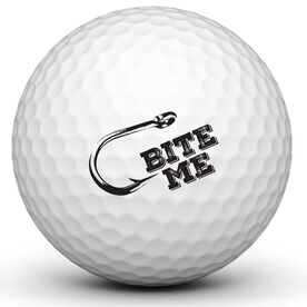 Bite Me Golf Ball