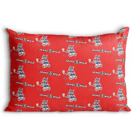 Seams Wild Hockey Pillowcase - Bobby Ice (Pattern)