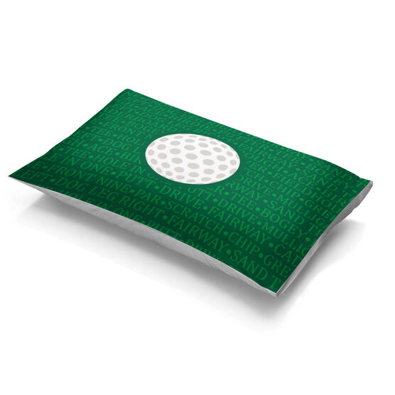 Golf Pillowcase - Ball With Terms