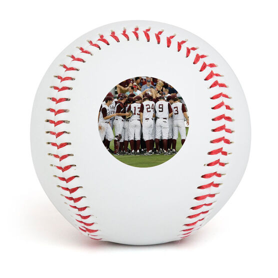 Custom Photo Baseball