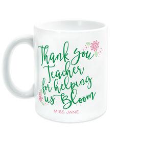 Teacher Coffee Mug - Bloom