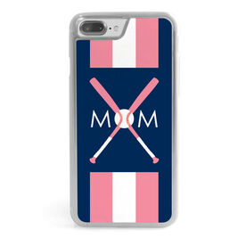 Baseball iPhone® Case - Mom With Crossed Bats