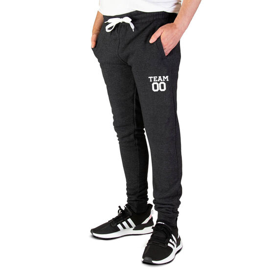 Men's Joggers - Team Name And Number