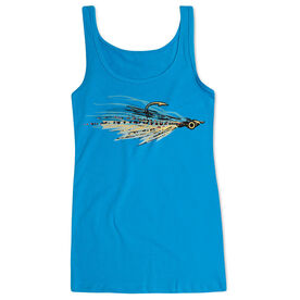 Fly Fishing Women's Athletic Tank Top Clouser Fly