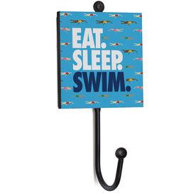 Swimming Medal Hook - Eat. Sleep. Swim. Female Swimmers.