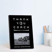 Field Hockey Photo Frame - Thank You Coach