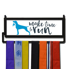 RunnersWALL Make Time To Run Medal Display