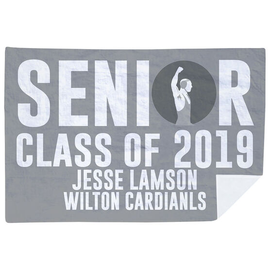 Wrestling Premium Blanket - Personalized Wrestling Senior Class Of
