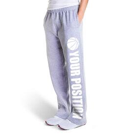 Basketball Fleece Sweatpants - Your Position