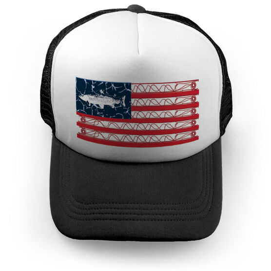 Fly Fishing Trucker Hat - American Cast