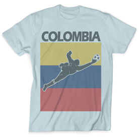 Vintage Soccer T-Shirt - Colombia