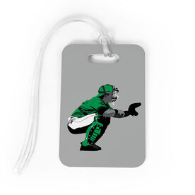 Baseball Bag/Luggage Tag - Catcher