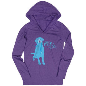 Women's Running Lightweight Performance Hoodie Never Run Alone