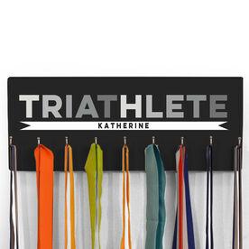 Hooked On Medals Hanger Triathlete