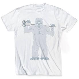 Guys Lacrosse Vintage T-Shirt - You Yeti To Lax