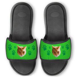 Personalized For You Repwell™ Slide Sandals - Custom Cat Photo