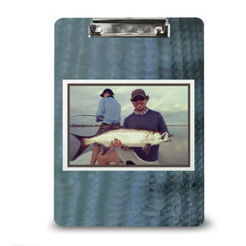 Fly Fishing Custom Clipboard Fly Fishing Your Photo Pattern Scales