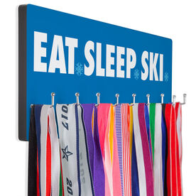 Skiing Hooked on Medals Hanger - Eat Sleep Ski