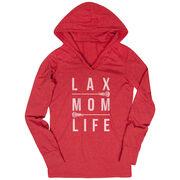 Girls Lacrosse Lightweight Performance Hoodie - Lax Mom Life