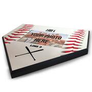 Baseball Home Plate Plaque - Horizontal Photo