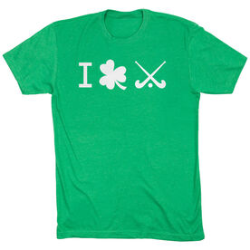 Field Hockey Tshirt Short Sleeve I Shamrock Field Hockey