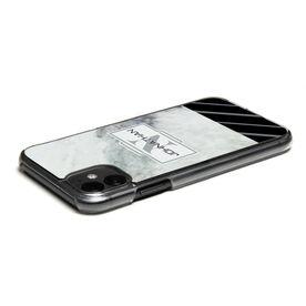 Personalized iPhone® Case - Marble Monogram