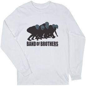 Football Tshirt Long Sleeve Football Band of Brothers