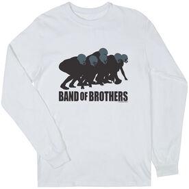 Football Tshirt Long Sleeve Football Band of Brothers