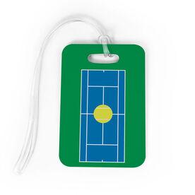 Tennis Bag/Luggage Tag - Court