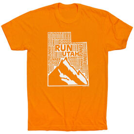 Running Short Sleeve T-Shirt - Utah State Runner