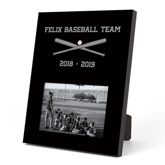 Baseball Photo Frame - Team