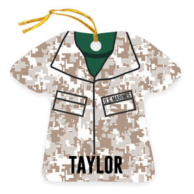 Personalized Ornament - Camouflage
