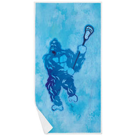 Guys Lacrosse Premium Beach Towel - King of the Field