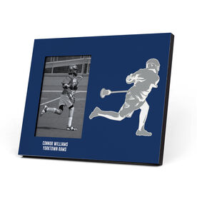Guys Lacrosse Photo Frame - Player