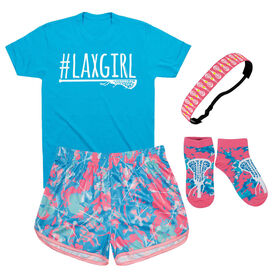 Island Flower Girls Lacrosse Outfit
