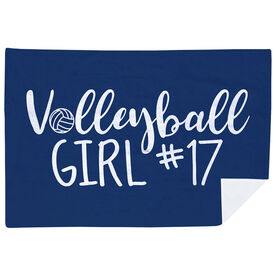 Volleyball Premium Blanket - Volleyball Girl