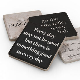 Stone Coasters Set of Four - Inspirational Quotes
