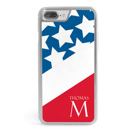 Personalized iPhone® Case - Patriotic with Name