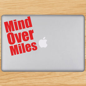 Mind Over Miles Removable GoneForaRunGraphix Laptop Decal